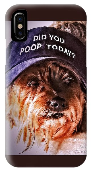 Did You Poop Today IPhone Case