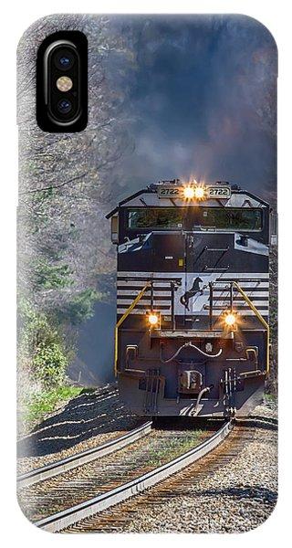 Diesel Engine Ns 2722 IPhone Case