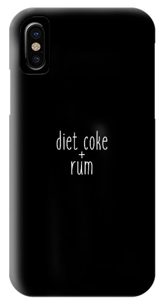 Diet Coke And Rum IPhone Case