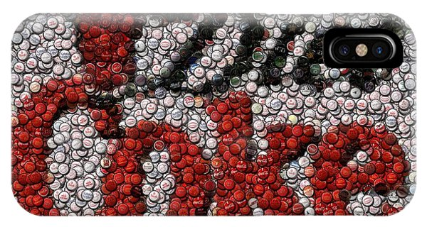 Diet Coke Bottle Cap Mosaic IPhone Case