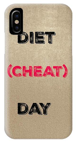 Diet Day? #2 IPhone Case