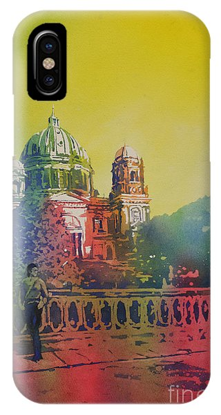 Different Look On The Berlin Cathedral IPhone Case