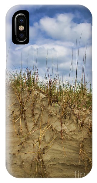 Digging In Deep In Sand Dunes IPhone Case