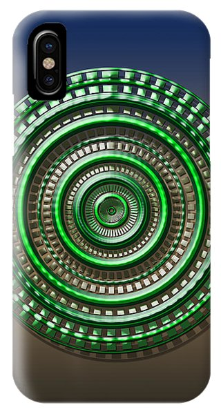 Digital Art Dial 3 IPhone Case