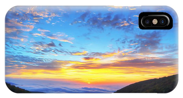 Leave iPhone Case - Digital Liquid - Good Morning Virginia by Metro DC Photography