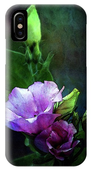 Digital Watercolor Elegance 3700 W_2 IPhone Case