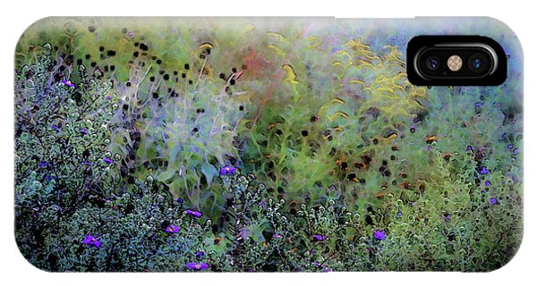 Digital Watercolor Field Of Wildflowers 4064 W_2 IPhone Case