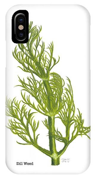 Dill Plant IPhone Case