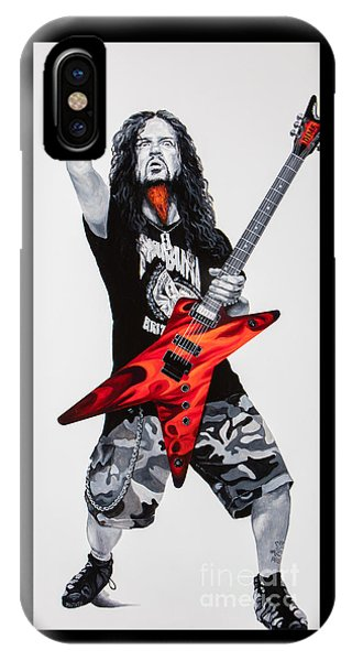 Dimebag Forever IPhone Case