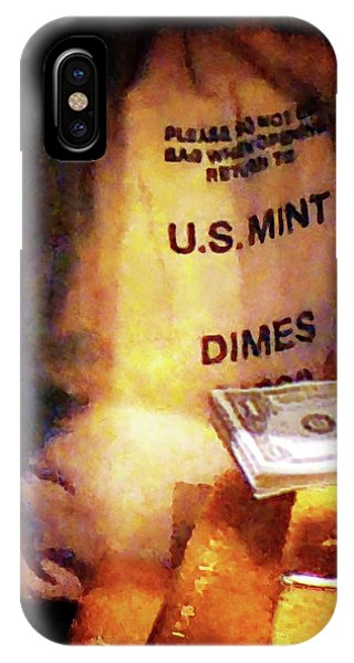 Dimes Dollars And Gold IPhone Case