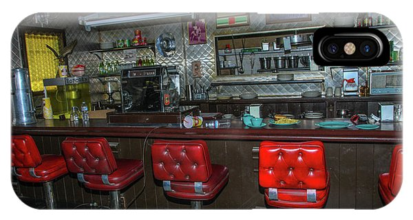 Diner Interior IPhone Case