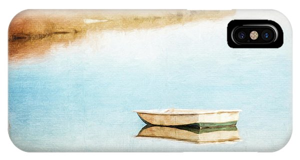 Dinghy In Eastham IPhone Case