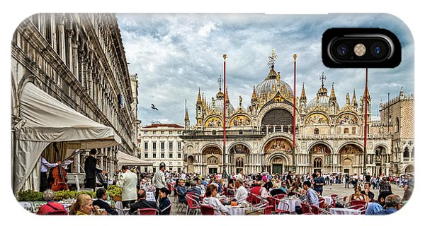 Dining On St. Mark's Square IPhone Case
