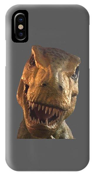 Dino Hello IPhone Case