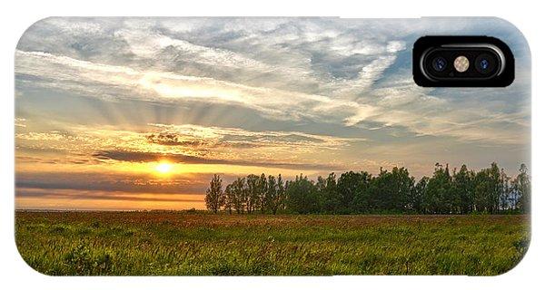 Dintelse Gorzen Sunset IPhone Case