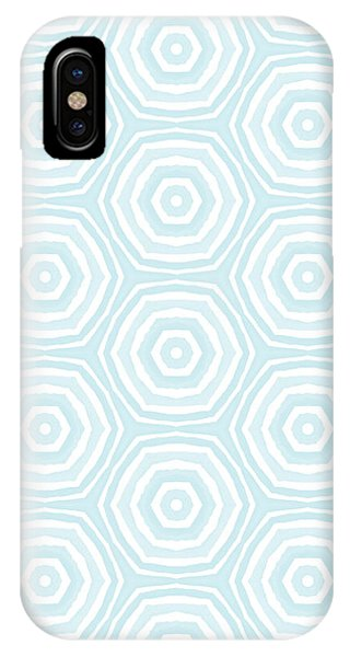 Summer iPhone X Case - Dip In The Pool -  Pattern Art By Linda Woods by Linda Woods