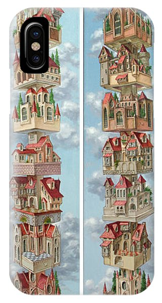 Diptych Air Castles IPhone Case