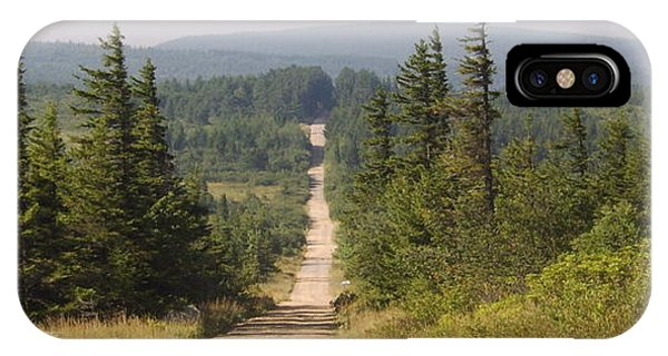 Dirt Road To Dolly Sods IPhone Case