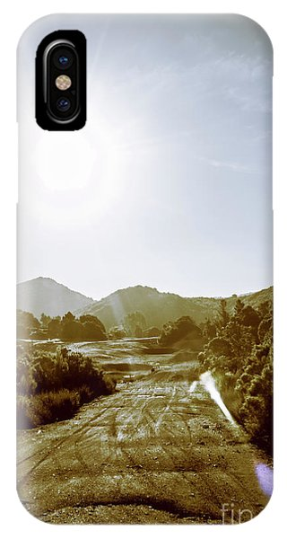Rural iPhone Case - Dirt Roads Of Outback Tasmania by Jorgo Photography - Wall Art Gallery