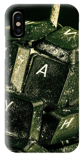 Technology iPhone Case - Disarming Of Weaponiised Words  by Jorgo Photography - Wall Art Gallery