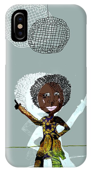 iPhone Case - Disco Lady by Laura Botsford