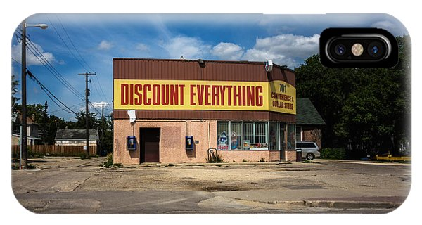 Discount Everything Phone Case by Bryan Scott