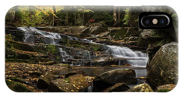 Discovery Falls Autumn IPhone Case