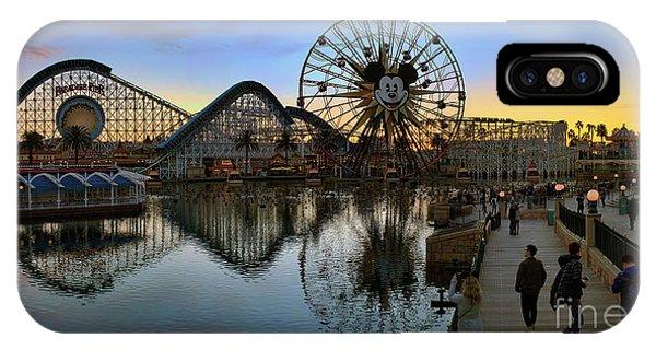 Disney California Adventure Panorama IPhone Case