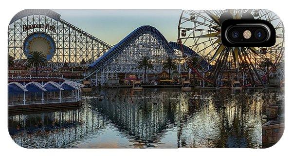 Disney California Adventure Reflections IPhone Case