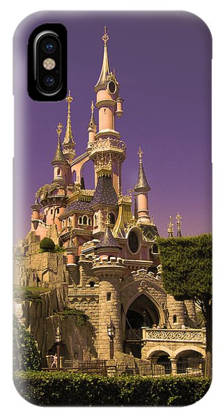 Disney Castle Paris IPhone Case