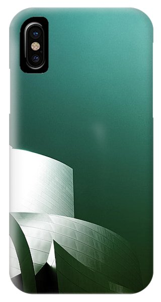 Concert iPhone Case - Disney Concert Hall 3- Photograph By Linda Woods by Linda Woods