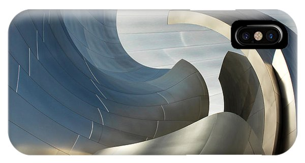Disney Concert Hall Swirl IPhone Case