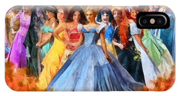 Disney's Princesses IPhone Case