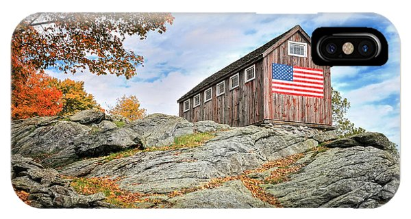 Display Of Colors - Roxbury Barn  IPhone Case