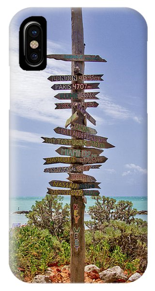 Distance From Key West IPhone Case
