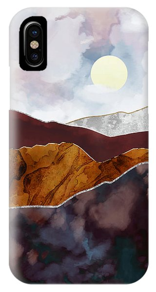 Abstract Landscape iPhone Case - Distant Light by Katherine Smit