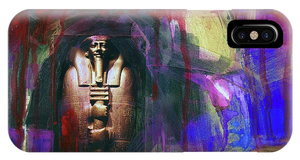 Distressed Civilization  Phone Case by Walter Fahmy