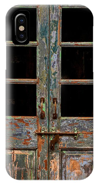 Distressed Doors IPhone Case
