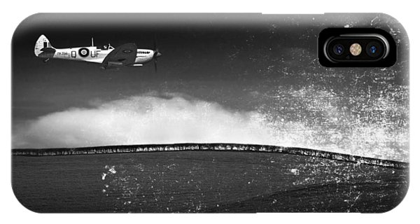 Distressed Spitfire IPhone Case