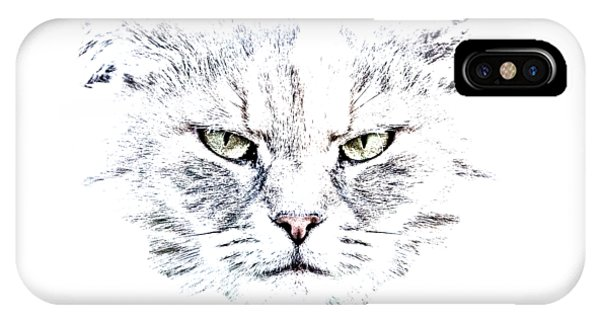 Disturbed Cat IPhone Case