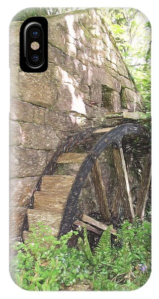 Disused Water Wheel IPhone Case