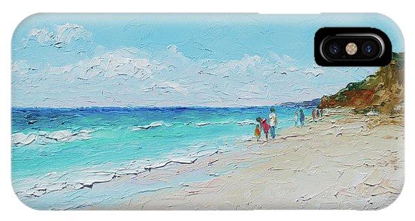 Ditch Plains Beach Montauk Hamptons Ny IPhone Case