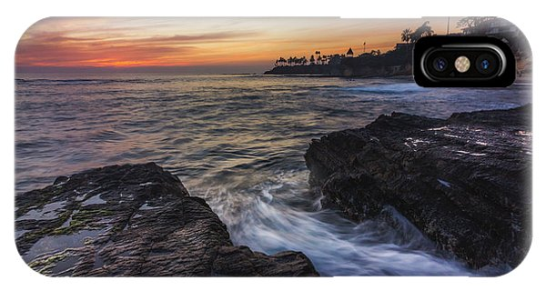 Diver's Cove Sunset IPhone Case