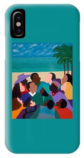 iPhone X Case - Diversity In Cannes by Synthia SAINT JAMES