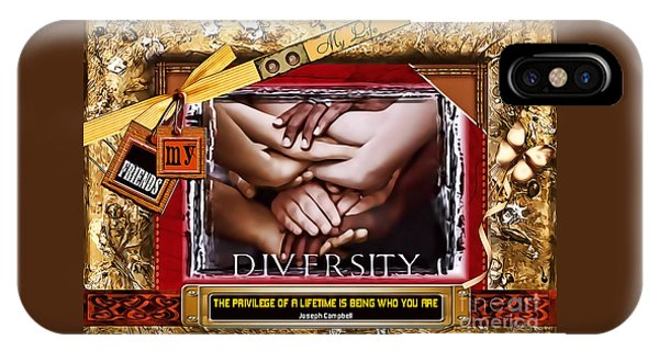 Diversity IPhone Case