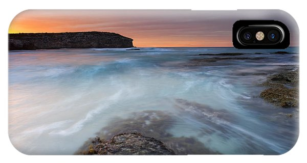 Kangaroo iPhone Case - Divided Tides by Mike  Dawson