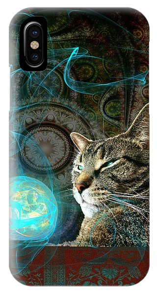 Wizard iPhone Case - Divination by Anastasiya Malakhova
