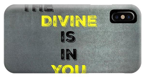 Divine #1 IPhone Case
