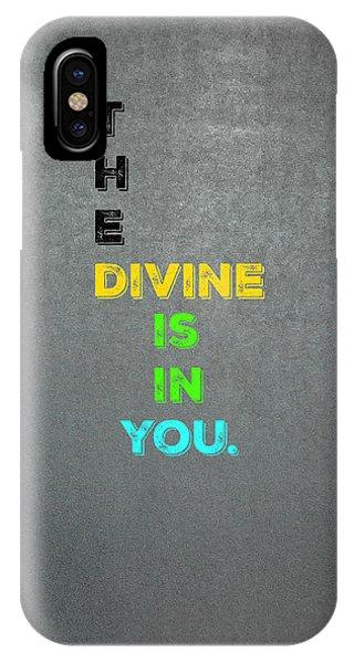 Divine #4 IPhone Case