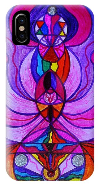 Divine Love iPhone Case - Divine Feminine Activation by Teal Eye Print Store